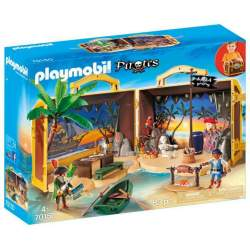 Playmobil Piratas Isla Pirata Maletín