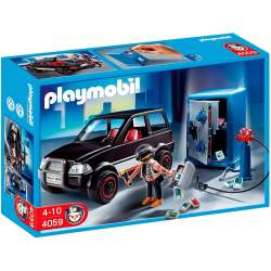 Playmobil Ladrón de Caja Fuerte con Coche