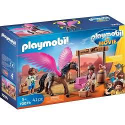 Playmobil La Pelicula Marla Y Caballo Con Alas