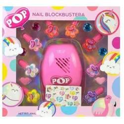 Maquillaje Pop Girl Con Secador De Uñas