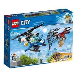 Lego City Policía Aérea A La Caza Del Dron