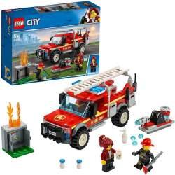 Lego City Camión De Intervención Del Jefe De Bomberos