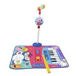 Alfombra Batería Y Piano Peppa Pig Con Micro