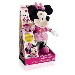 Peluche Happy Sounds Minnie Con Sonidos Divertidos