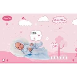 Muñeco Baby Tonet Invierno 33 Cm Antonio Juan