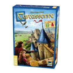 Juego Carcassonne Básico ¡Crea Tu Propio Territorio!