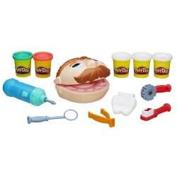 Playdoh Dentista Bromista C/ Accesorios Y 5 Botes