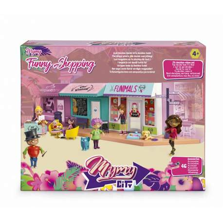 Mymy City Funny Shopping Con Peluquería De Mascotas Y Cafetería