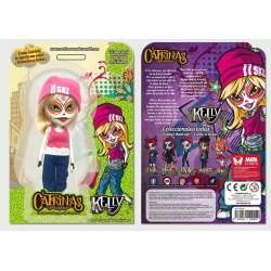 Muñeca Mini Catrina Kelly 15 Cm