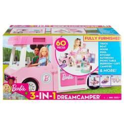 Autocaravana De Barbie 3 En 1