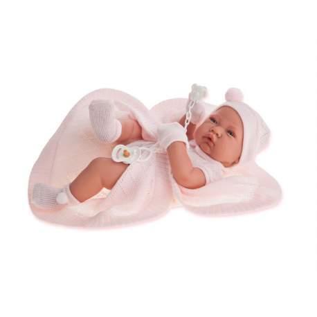 Recién Nacido Niña Toquilla 42 Cm. Muñecas Antonio Juan