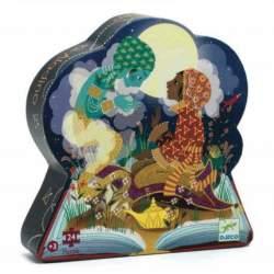 Puzzle Silueta Aladin 24 Piezas