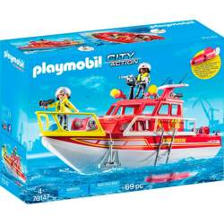 Playmobil City Action Barco De Rescate