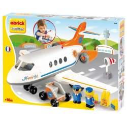 Avión Happy Jet Incluye Un Avión 2 Figuras, Escalera Y Malet