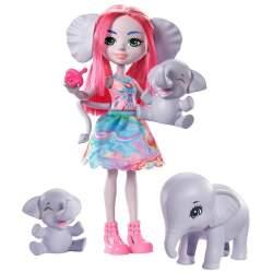 Muñeca Enchantimal Familia Elefante