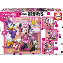 Puzzles Progresivos Minnie