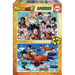 Dragon Ball Puzzle 2X100 Piezas