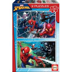 Puzzle 2X100 Spiderman Educa