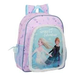 Mochila Infantil Frozen Disney Ll Adaptable 28X10x
