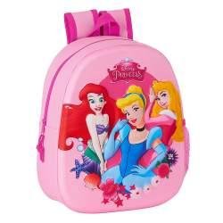 Mochila 3D Princesas Disney