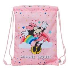 Mochila Saco Junior Minnie Mouse