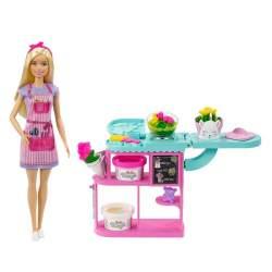 Muñeca Barbie Florista Con Accesorios