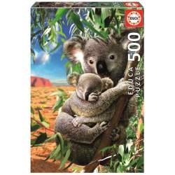 Puzzle 500 Koala Con Su Cahorro