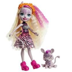 Muñecas Enchantimals Zebra