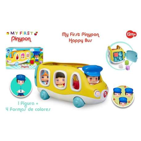 Pinypon My First Happy Bus