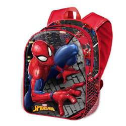 Mochila 3D Wall Spiderman Marvel 31Cm