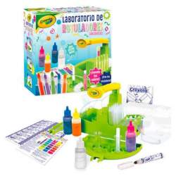 Laboratorio Crayola Rotuladores Multicolor 30 X 30 X 14 Cm