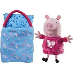 Peluche Peppa Pig Fiesta De Pijamas Con Su Saco De Dormir .