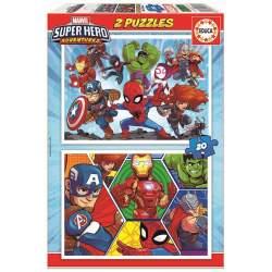Puzzle Educa Marvel Super Heroe Adventures