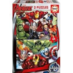 Puzzle Avengers 2*48 Pzas