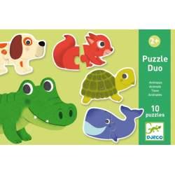 Puzzle Dúo Animales