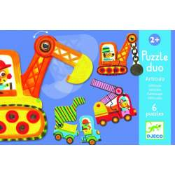 Djeco Puzzle Dúo Articulado Vehículos