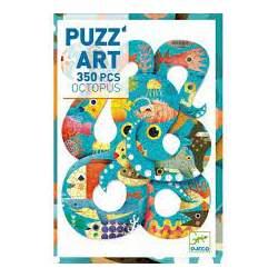 Puzzle De Un Pulpo Piezas 350