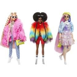 Muñeca Barbie Fashionista Xtra Mod Sdos.