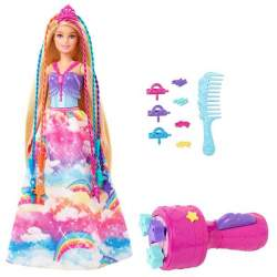 Muñeca Barbie Dreamtopia Princesa Trenzas Con Accesorios
