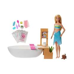 Muñeca Barbie Baño Con Burbujas