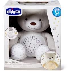 Peluche Proyector Musical Baby Bear Beig 30X36x14 Cms