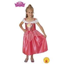 Disfraz Infantil Bella Durmiente Sequin Talla (7/8 Años)