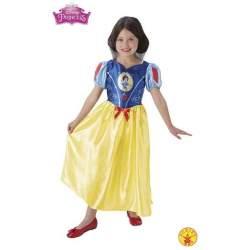 Disfraz Infantil Blancanieves Cuento De Hadas Talla M (5/7 A