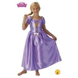 Disfraz Infantil Rapunzel Cuento De Hadas Talla M (5/7 Años)