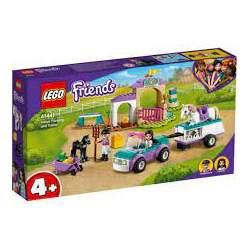 Lego Friends Entrenamiento Y Remolue Ecuestre