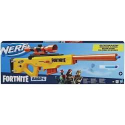 Pistola Nerf Fortnite Basr-L Capacidad Para 6 Dardos.