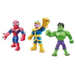 Figuras Avengers Sha Mega Mighties 25 Cm Pack 3 Unds.