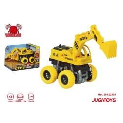 Excavadora Fricción Con Pala Mód. Sdos. 18X13x11cm