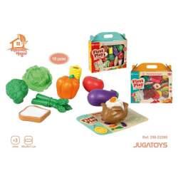 Set De Alimentos En Caja 18 Pzas 30X29x7cm