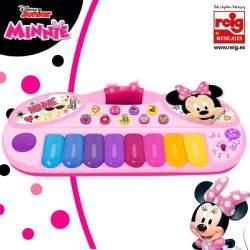 Organo Electronico Minnie Con Luz Y Sonido.